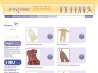 Интернет-магазин детской одежды PlayToday. Детская одежда.