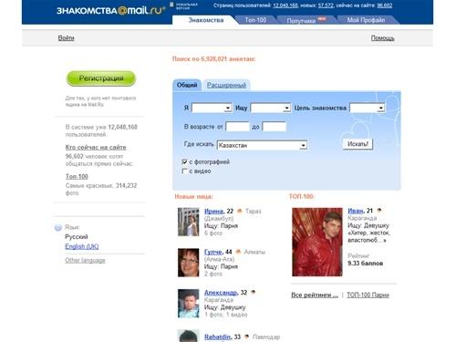 Mail.ru-p знакомства к