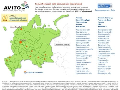 Avito.ru доска бесплатных объявлений выкачка доска объявлений нелидово невс
