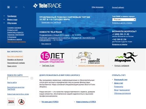 Teletrade forex ru